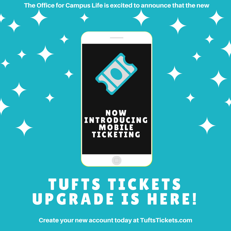 Tufts Tickets Has Been Upgraded!